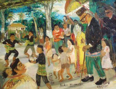 lukisan soedjojono